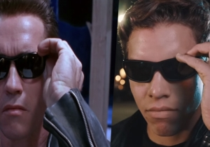 Arnold Schwarzenegger's Son Recreates An Iconic 'Terminator 2' Scene For Its 25th Anniversary