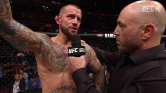 A Beat Up CM Punk Just Gave A 'Rocky'-Level Post-Fight Speech About Believing In Yourself
