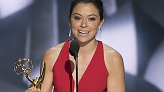 'Orphan Black' star Tatiana Maslany has won her first Emmy and the fans are rejoicing