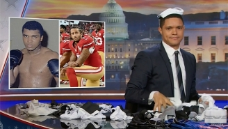 'The Daily Show' Calls Colin Kaepernick This Generation's Muhammad Ali, But With A Slight Twist