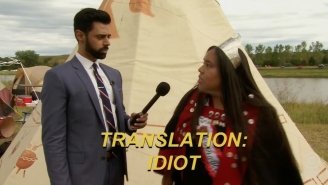 'The Daily Show' Lends A Hand To End The Native American Pipeline Protest In North Dakota