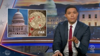 'The Daily Show' Challenges Congress To Take A Hint From South Africa To Fight Zika
