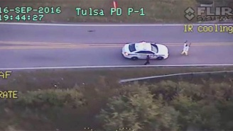 Tulsa Police Release Footage Of A Cop Shooting And Killing An Unarmed Black Man