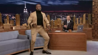 Terry Crews Demonstrates Why He's The King Of Doing The Robot