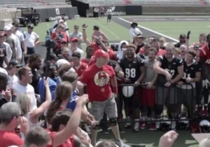 Texas Tech Staged Its Own WWE Title Match During Labor Day Weekend