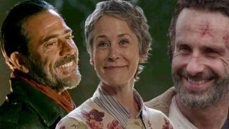 You Can Bug The Cast Of 'The Walking Dead' About Who Negan Killed For A Good Cause
