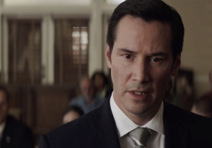 Keanu Reeves is going to make you believe he's a lawyer