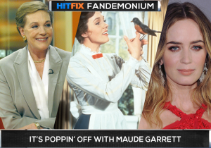 Julie Andrews approves of Emily Blunt playing Mary Poppins but do WE?