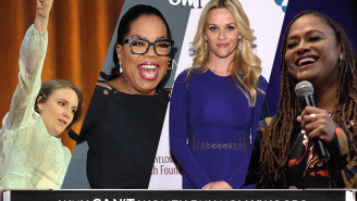 Oprah and Ava show the women of Hollywood how it's done