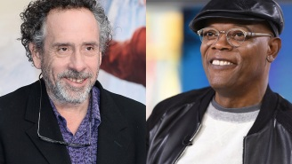 Tim Burton gave Samuel L. Jackson a gift he may or may not use to decorate his home