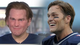 Tom Brady Shared His Thoughts On That Creepy Mask That Gave Us All Nightmares