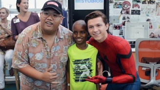 Good Dude Tom Holland Visits A Children's Hospital While Decked Out In His Spidey Suit