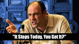 Tony Soprano Lines For When You Have To Clean Up Someone Else's Mess