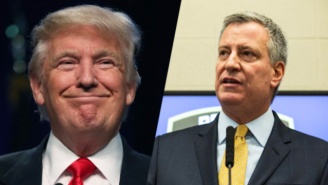 NYC Mayor Bill DeBlasio Vows To File Suit If Trump Follows Through With His Muslim Registry Proposal