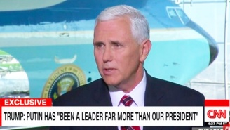 Mike Pence: It's 'Inarguable' That Vladmir Putin Is A Stronger Leader Than Obama