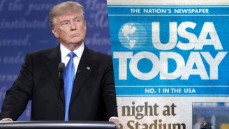 USA Today Sets A Different Tone By Breaking Tradition To Call Trump 'Unfit' To Be President