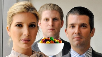 Today In Terrible Trump Sibling Tweets: Comparing Syrian Refugees To A Poisoned Bowl Of Skittles
