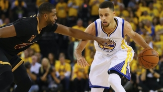 Steph Curry's Trainer Explains Why The Two-Time MVP Always Looks At His Defender's Nose First
