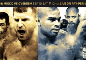 UFC 203 Predictions And Live Discussion: Miocic Vs. Overeem