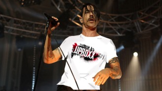 Maybe It's Time For Anthony Kiedis To Put His Shirt On