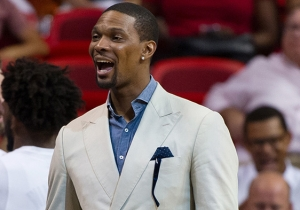 Pat Riley Says Chris Bosh's Career With The Heat Is 'Probably Over'
