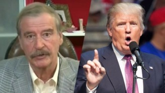 Former Mexican President Vicente Fox: America Has 'Everything To Lose' By Building Trump's Wall