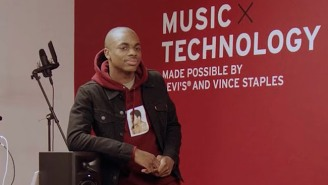 Vince Staples Partners With Levi's To Launch A Music Technology Program For Kids In His Neighborhood