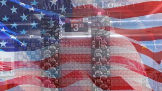 This Florida Walmart Opted To 'Never Forget' 9/11 With A Strange Soda Display