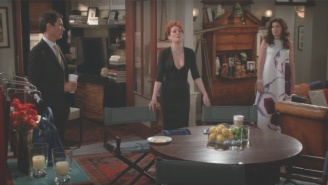 The 'Something Big' That The 'Will & Grace' Cast Was Preparing Is A Hilarious Scene About The Election
