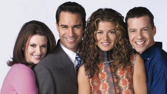 The Cast Of 'Will & Grace' Reunites To Tease 'Something Big'