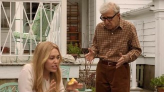 Woody Allen And Miley Cyrus Discuss Drugs In The 'Crisis In Six Scenes' Trailer