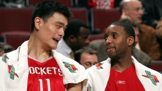 Tracy McGrady Waxes Poetic On Yao Ming, Who 'Could Do Everything'