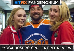 Kevin Smith continues his weird streak with Yoga Hosers
