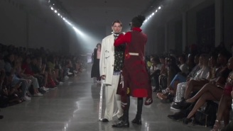 Young Thug Interrupted A Fashion Show To Fix A Model's Outfit And It Was Perfect