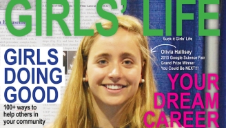 A Graphic Artist Fixed A Sexist 'Girls' Life' Cover To Turn It Into A Message Of Empowerment