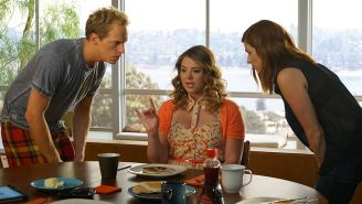 Review: On 'You're the Worst,' is it all right for Jimmy to cry for his father?