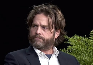 Zach Galifianakis Says You'll Never See 'Mentally Challenged' Donald Trump On 'Between Two Ferns'