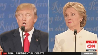 A Defeated Trump Loses It Near The End Of The Debate, Calls Hillary 'A Nasty Woman'