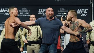 Conor McGregor Has Been Fined $150,000 For His Bottle-Throwing Antics At The UFC 202 Press Conference