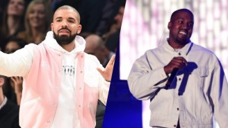 Drake Went To Kanye West's 'Saint Pablo' Tour And Had The Time Of His Life