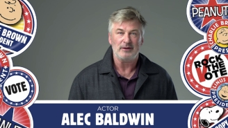 Alec Baldwin Overlooks Charlie Brown's Inability To Kick A Football To Endorse Him For Prez