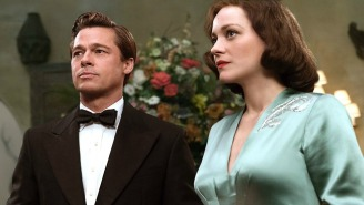 Brad Pitt's Marriage Is A Little Tense In The Latest Trailer For 'Allied'