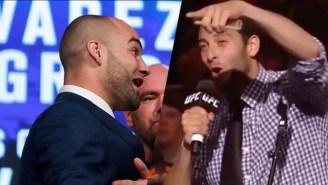 Eddie Alvarez Calls Conor McGregor's Fanbase 'WWE Fans Who Don't Know Sh*t About MMA'
