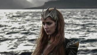 First Look: Amber Heard As Mera In 'Justice League' And 'Aquaman'