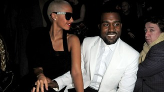 Kanye West Dissed Amber Rose Too On The Original Version Of 'Famous' With Young Thug