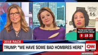 Ana Navarro Mocks Trump's Use Of 'Hombre,' Lists The Two Spanish Words He Probably Knows