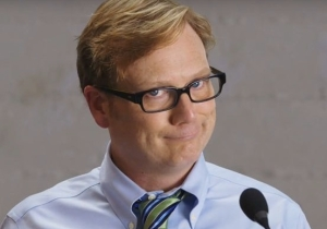 Andy Daly Gets Five Stars For Filibustering About Whisky For Over Three Hours