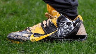 The NFL Made Antonio Brown Remove His Awesome Cleats That Paid Tribute To Muhammad Ali