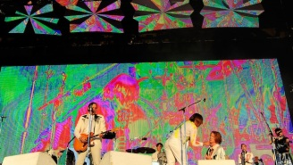 Arcade Fire Tease New Music In An Intimate Show Before Their Voodoo Set Tonight