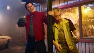 'Ash Vs Evil Dead' Reunites Bruce Campbell With 'Xena' Alum Ted Raimi For A Memorably Boozy Episode